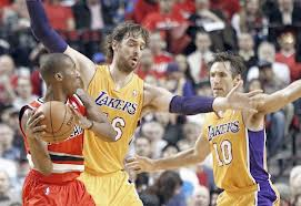 Lakers blazers nash gasol