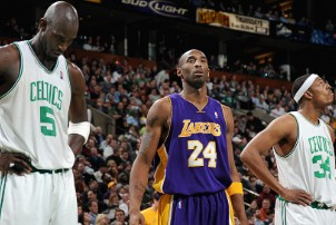 lakers celtics kobe pierce