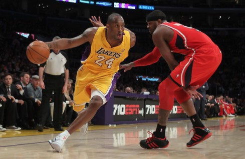 lakers hawks kobe smith