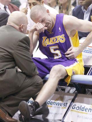 Steve Blake injury