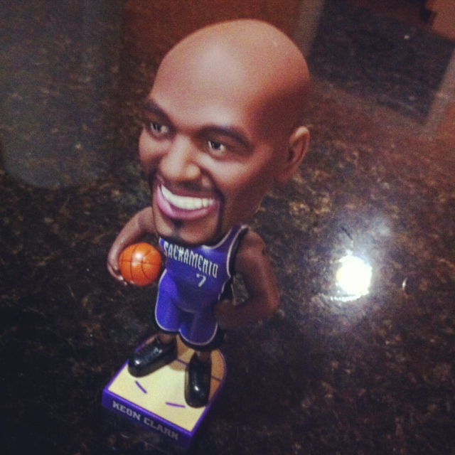 Raining3s Obscure NBA Bobblehead Collection: #1 Keon Clark