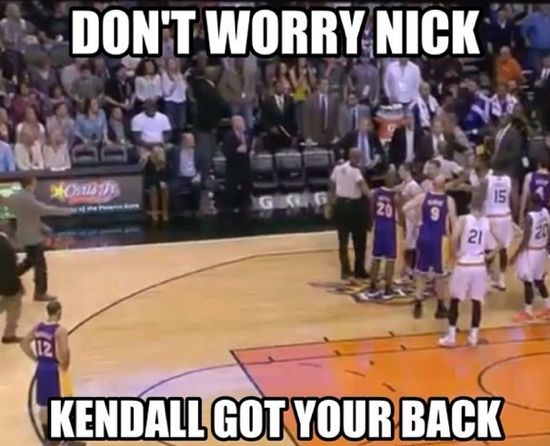 Photo: http://larrybrownsports.com/wp-content/uploads/2014/01/Nick-Young-Kendall-Marshall-meme.jpg